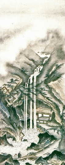 Гэйами. Созерцание водопада. 1478 г.