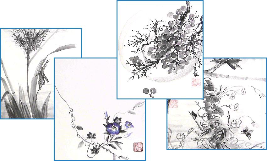 уроки японской живописи: